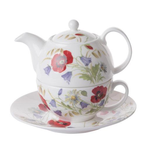 Roy Kirkham Tea for One Set English Meadow