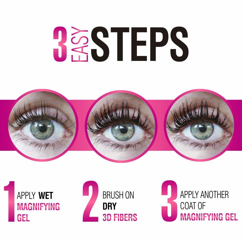 a93b9d54072 ... 3D Fibre Lash Mascara Set by Mia Adora - High Quality 3D Fiber Lash  Mascara with ...