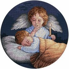 D03873 - Dimensions Counted X Stitch - Angelic Guardian