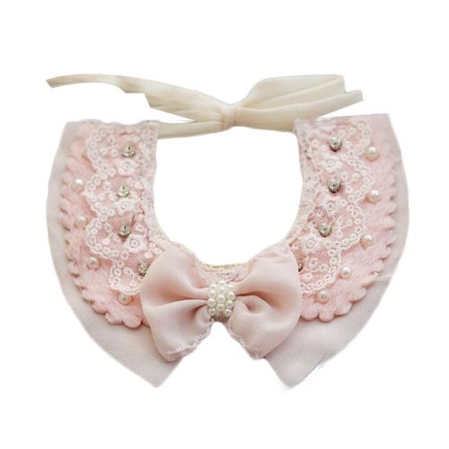 """Retro Style Handmade Lace Collars Pet Necklace Neckerchief for Dog/Cat 8.2-11.2"""""""