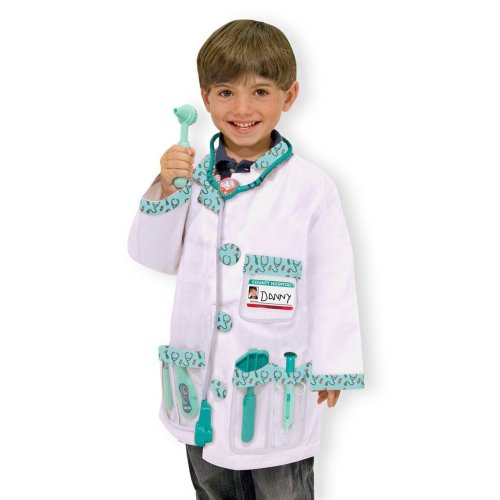 Melissa & Doug Doctor Role Play Costume Set (Age 3 to 6)