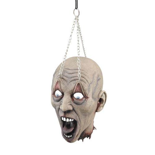 Zombie Hanging Dead Head Decoration Prop | Halloween