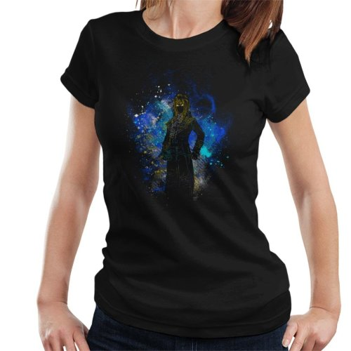 Goblin King Silhouette Labyrinth Women's T-Shirt