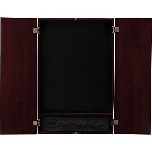 Viper Metropolitan Electronic Soft Tip Dartboard Cabinet Cabinet Only No Dartboard Mahogany Finish