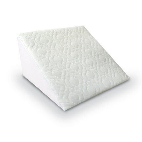 Sentik Reclining Quilted Orthopaedic Foam Bed Wedge Back Support Pillow Aid