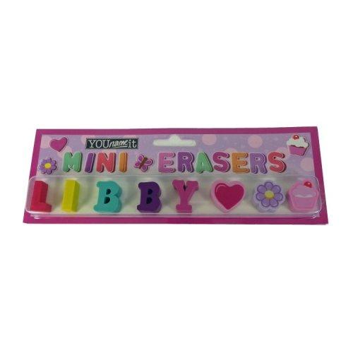 Childrens Mini Erasers - Libby