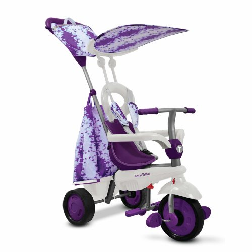 smarTrike Spirit Trike Baby Tricycle for 1 Year Old, Purple