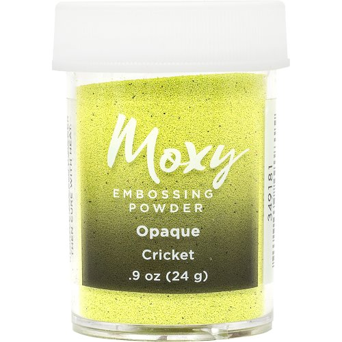 Moxy Opaque Finish Embossing Powder 1oz-Cricket