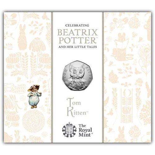 Tom Kitten 2017 UK 50p BU Coin