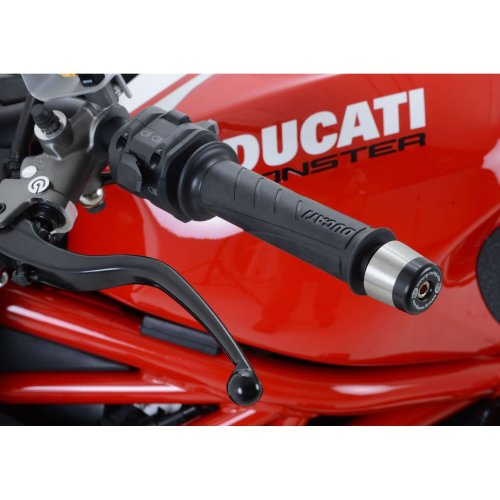 R&G Bar End Sliders for Ducati Monster 1200R / Monster 1200S 2017 onward / Supersport (S) 2017 onward