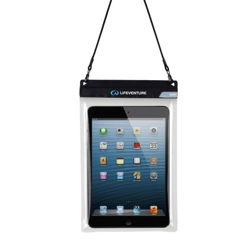 Lifeventure DriStore Waterproof Tablet Pouch Touchscreen Compatible Lanyard