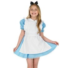 Fun Shack Child Traditional Alice Costume - Age 6 - 8 Yrs (m)