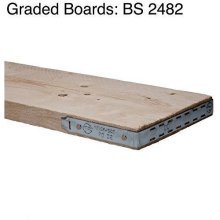 Scaffold Boards 225mm x 36mm | 13ft (3.9 meter)