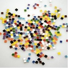 Pbx2471189 - Playbox - Mosaic, Mixed Colours, 5 X 5 Mm, 500 Pieces