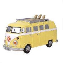 Children Piggy Bank Creative Money Cans Or Gift Ornaments, Yellow Medium Bus
