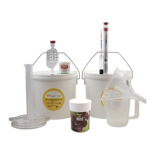 Starter Wine Making Set - Muntons Rose 6 Bottle Size With Equipment