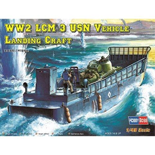 Hobby Boss US Navy LCM 3 Vehicle Landing Craft Model Building Kit