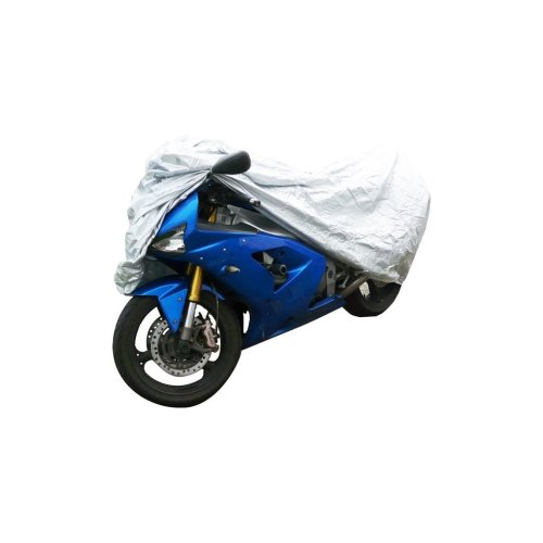 Water Resistant Motorcycle Cover - Large - Up to 2.43m