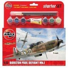Air55213 - Airfix Medium Starter Set - 1:72 - Boulton Defiant Mk.i