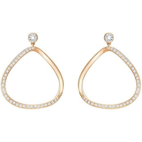 Swarovski Gaya Pierced Earrings - White - 5279778