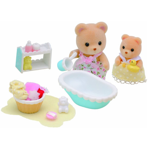 Sylvanian Families Baby Bath Time On Onbuy