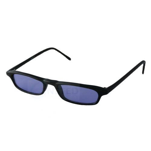 Small Adult High Quality Modern Sunglasses Purple Tinted Lens CL038