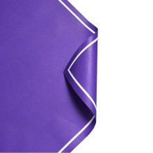 20Pcs Flowers Wrapping Paper Gift Packaging Paper Bouquets Of Paper, Purple