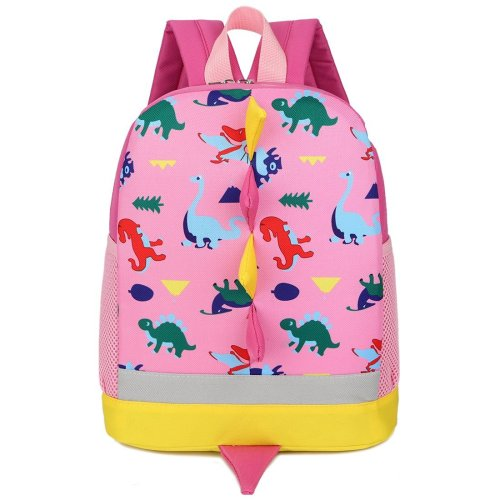 Children Kid Backpack Rucksack Little Girl Preschool with Leash Reins Pink  Zoo Dinosaur Strap 3 Year on OnBuy d9b511dbe7dbc