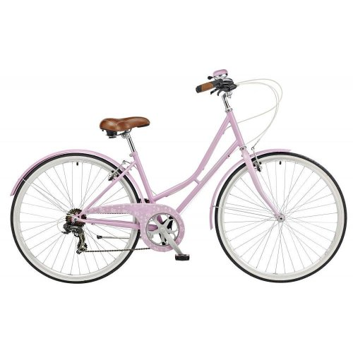 "Claud Butler Cambridge Plush Ladies 700c 6 Speed 19"" Heritage Bike Pink RRP £299"