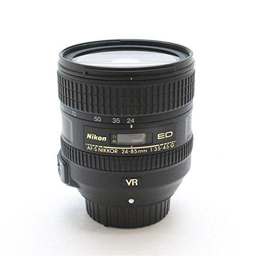 NIKON AF-S 24-85MM F3.5-4.5G ED VR Black (White box)