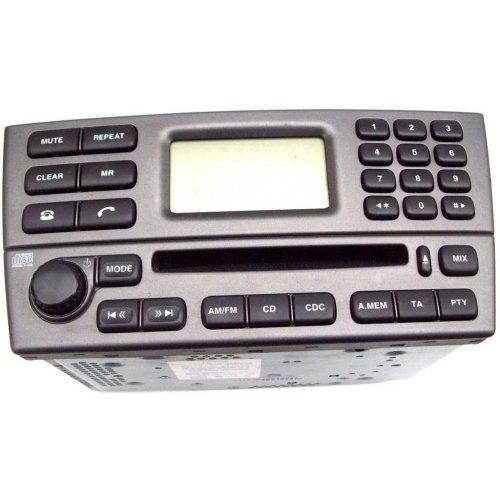 Jaguar X Type Radio CD Player Head Unit 4X43-18B876-AB
