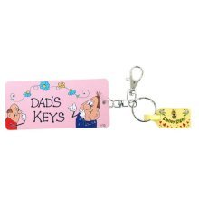 Dad's Keys Keyring Gift Birthday Christmas Fathers Day Keychain Key Ring Dads