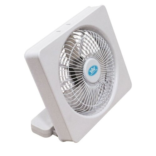 "Prem-I-Air 6"" Square USB Powered or Battery Powered Travel Fan"