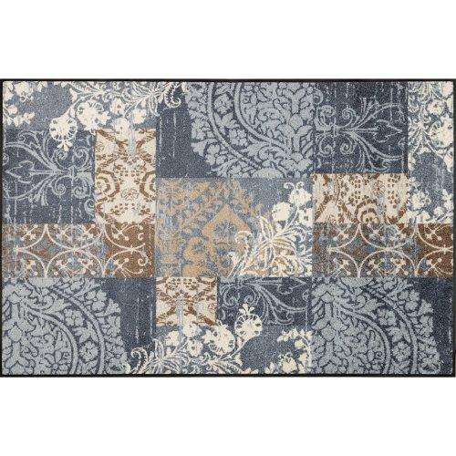 wash+dry Door Mat, Polyester, Grey, 115 x 175 cm