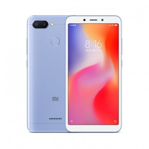 XIAOMI Redmi 6 32G (3G RAM) Blue