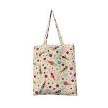 2Pcs Eco Handbags Shoulder Bags Totes Shopping Bags, Little Rabbit