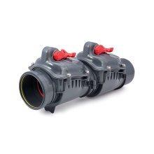 Polypropylene Check Non-return Double Flap Valve Backwater Prevented 110 160mm