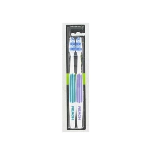 Listerine Reach Interdental Toothbrush Full Twin Pack Firm