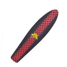 Fashion Waterproof Skateboard Equipment Skateboard Sandpaper/Stickers-Red