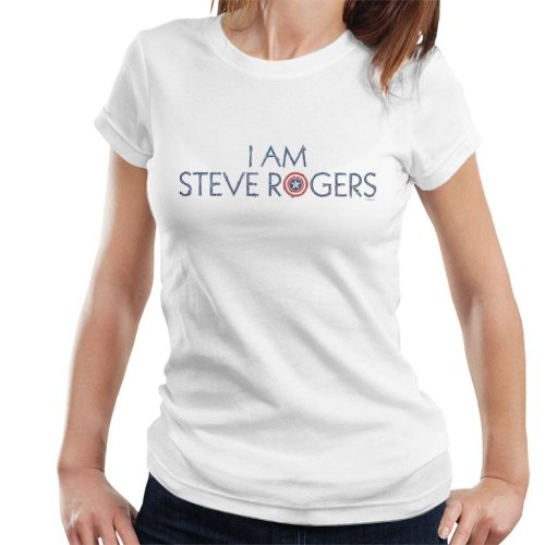Marvel Avengers Infinity War I Am Steve Rogers Women's T-Shirt