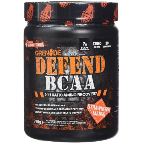 Grenade Defend BCAA, Strawberry Mango, 390 g