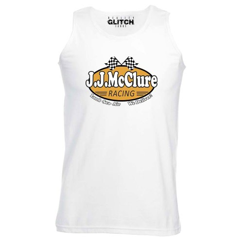 Reality Glitch JJ McClure Racing Cannonball Mens Vest