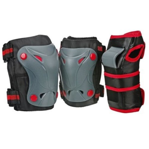 Cruiser 3000 Tripack Protective Gear, Black - Youth