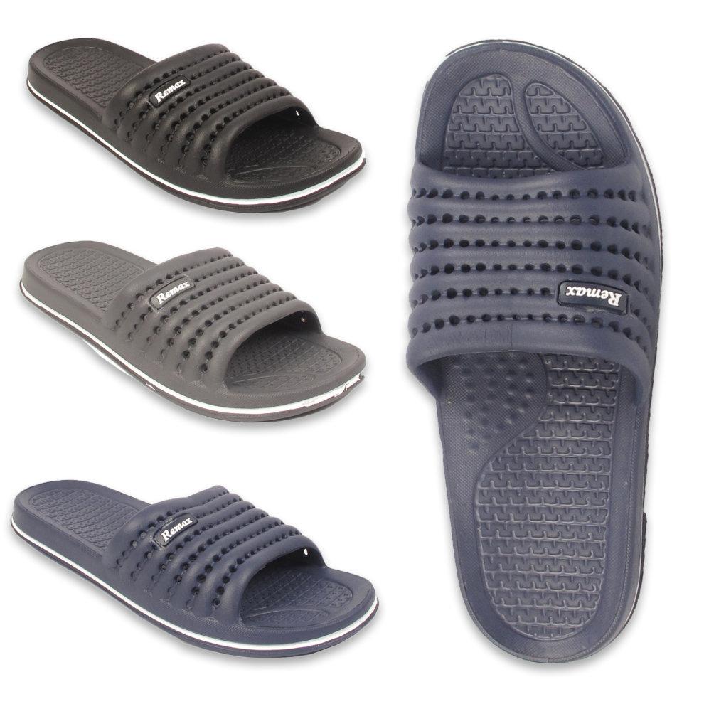 1154691338121 Remax Renegade Punched Sliders Flip Flop Sandals on OnBuy
