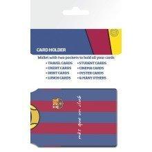 Barcelona Messi Shirt Travel Pass Card Holder