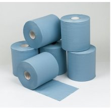 Concept 2 Ply Blue Centre Feed Rolls 150m x18.5cm Pack 6
