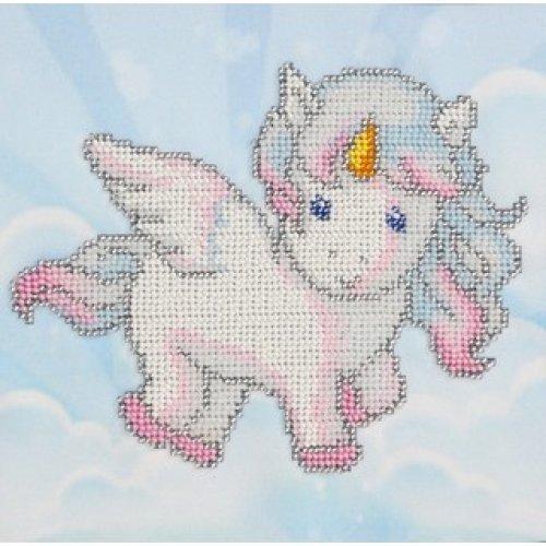 VDV Bead Embroidery Kit - Unicorn