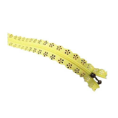 Set of 4 Beautiful Lace Clothes Zipper 20 CM DIY Purse/Pencil Box Zipper