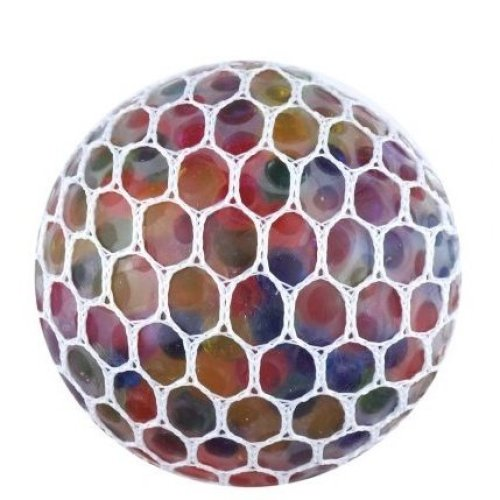 Bead Mesh Stress Ball | Squishy Mesh Ball
