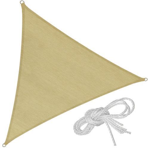 Sun shade sail triangular 620 x 620 x 620 cm